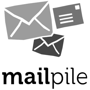 Mail-Pile_logo_bw